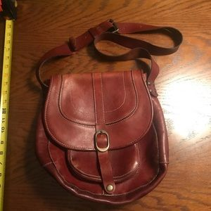 Patricia Nash Saddle leather bag